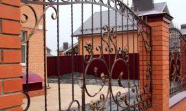 заборы кованые с монтажом под ключ изображение