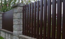 забор из штакетника недорого изображение