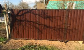 Забор калитка могилев фото